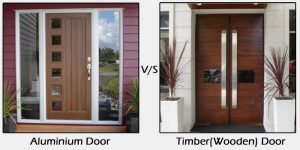 One of the most contested debates among door manufacturers, supplier and of course buyers is – Which type of door is better - Aluminium or Timber?